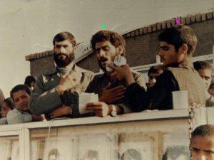 شهید سید حسن میررضوی و شهید محمود صبورب راست