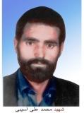 Photo of شهید محمد على آسیبى