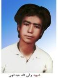 Photo of شهید ولی اله عبدالهی